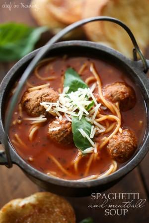 Spaghetti-and-Meatball-Soup
