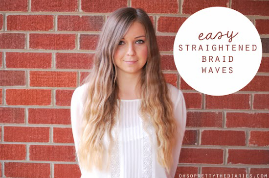 Straightened Braid Waves 2