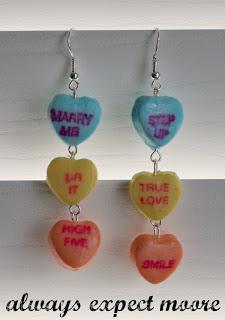 Sweetheart Candy Earrings