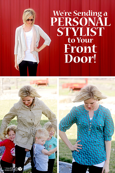 We're Sending You a Personal Stylist to Your Front Door! www.howdoesshe.com