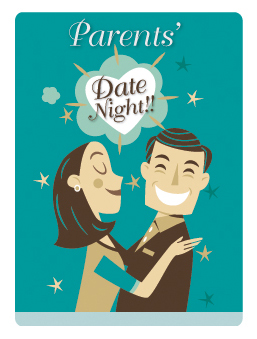 image of man and woman enjoying date night