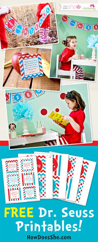 Celebrate Dr. Seuss! – Exclusive FREE Printables