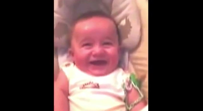 Baby Laughing Like a S...