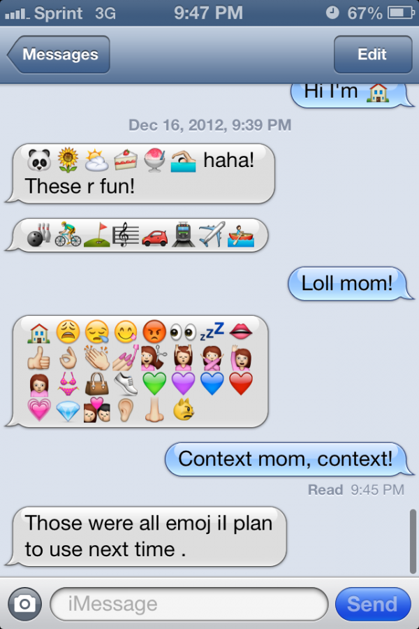 funny texts from mom