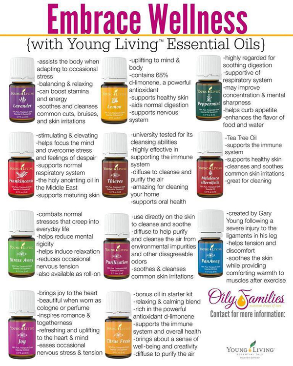 Young Living Essential Oils Does She