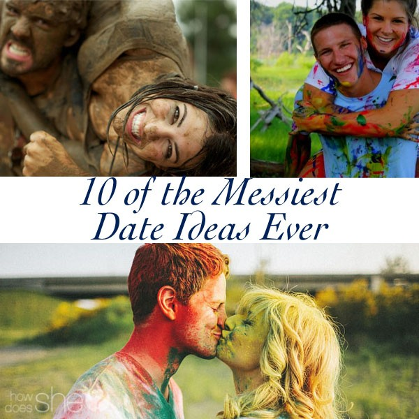 10 of the Messiest Date Ideas ever