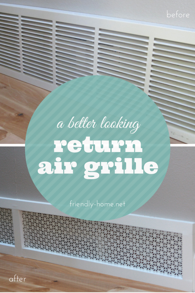 air grill makeover