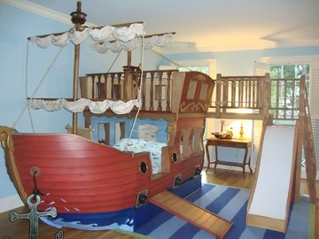 pirate playroom