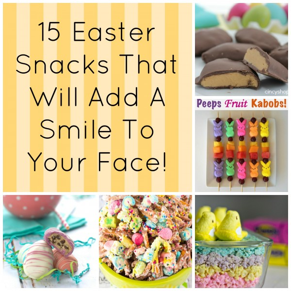 15 Easter Snacks That Will Add A Smile To Your Face! fb