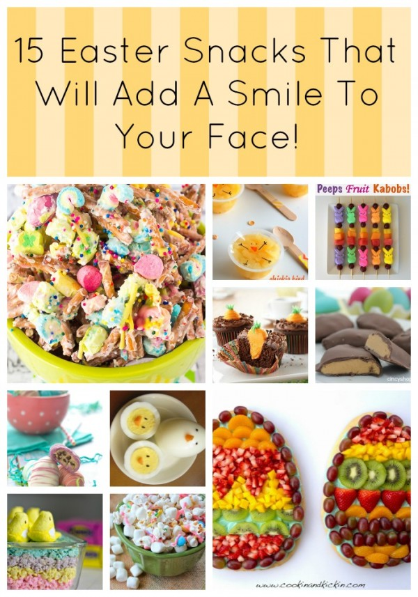 15 Easter Snacks That Will Add A Smile To Your Face! pin