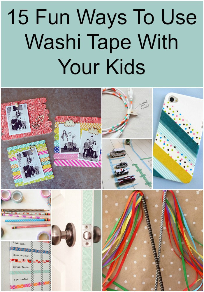 Ways To Read Tarot Cards: 15 Fun Ways To Use Washi Tape With Your Kids