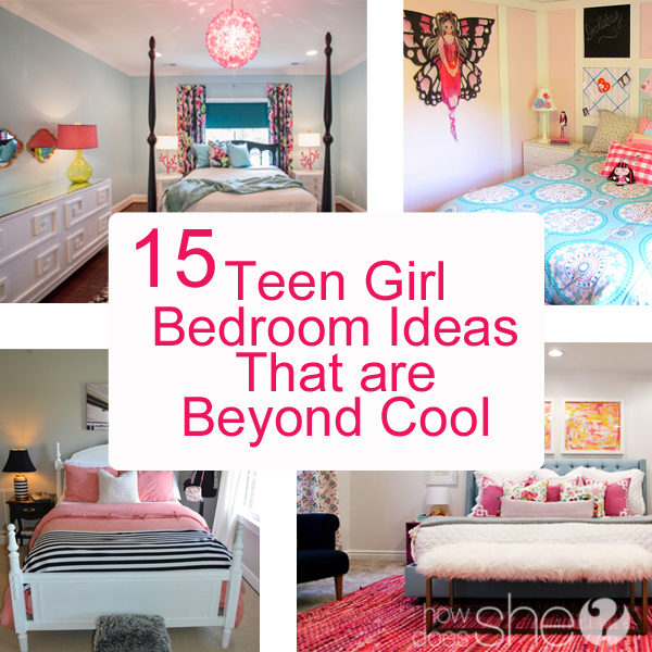 Teen Girl Bedroom Ideas - 15 Cool DIY Room Ideas For ... on Teenager Room Girl  id=23420