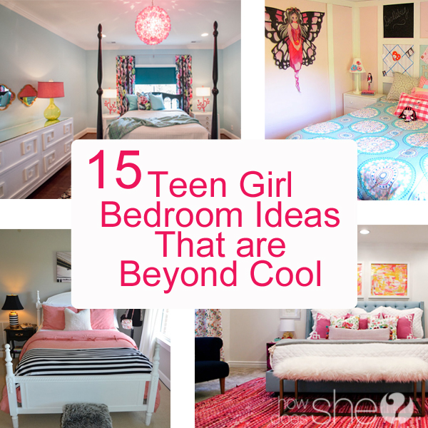 Teen girl bedroom ideas 15 cool diy room ideas for Teenage room ideas small space