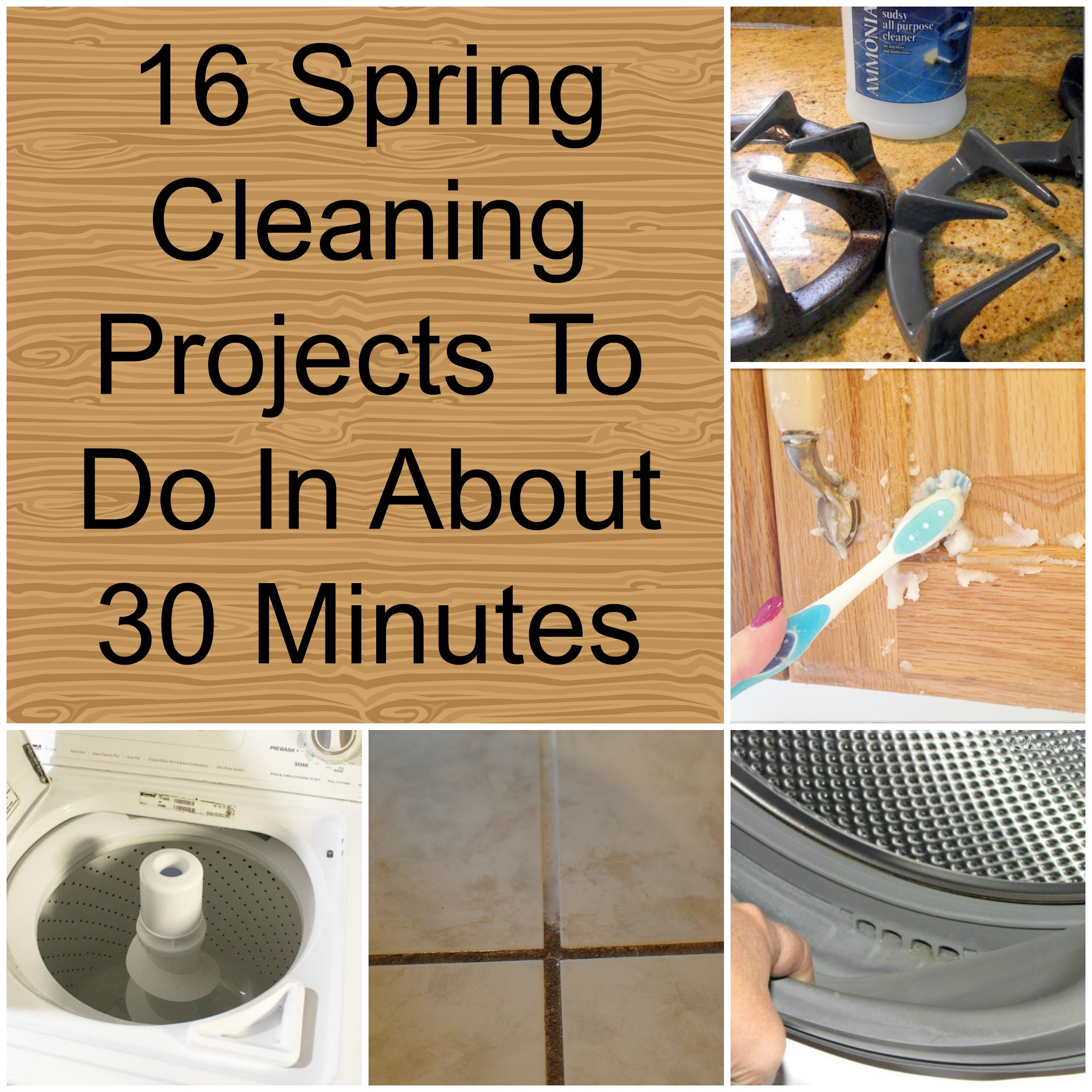 House cleaning projects