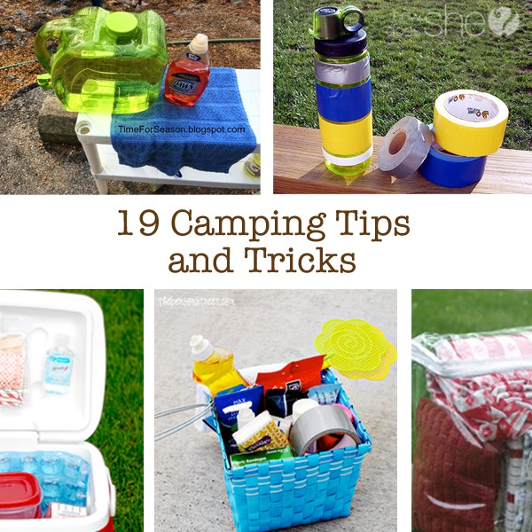 19 Cool Camping Tricks