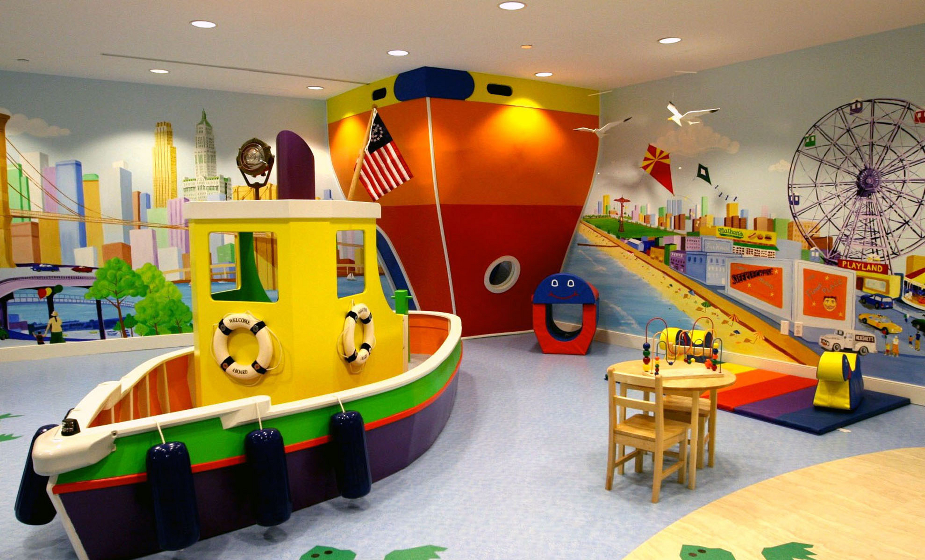 19 amazing dream playrooms how does she for Teenage playroom design ideas