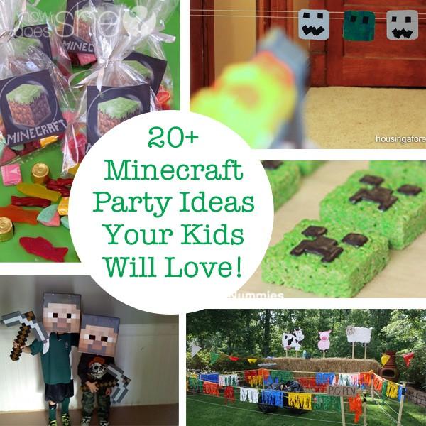 Best 25 Minecraft Ideas On Pinterest: 20+ Minecraft Party Ideas Your Kids Will Love!