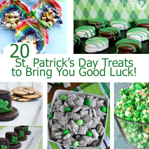 20 St. Patrick's Day Treats to Bring You Good Luck!
