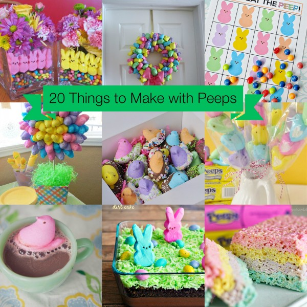 20 Things to Make with Peeps fb