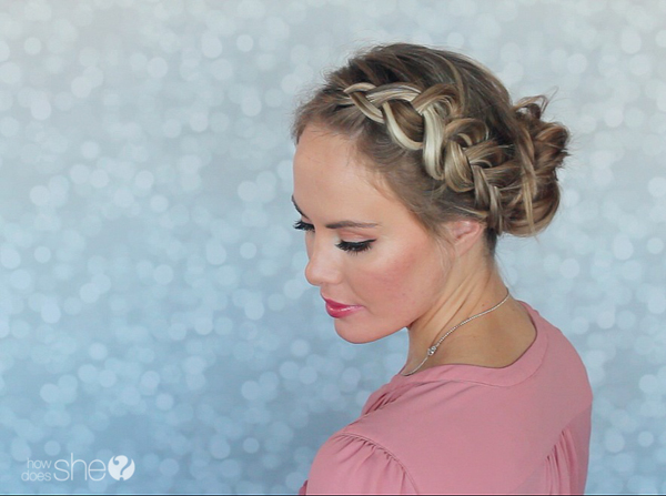 Beautiful braided bun tutorial (4)