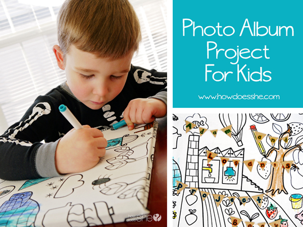 Photo Album Project For Kids