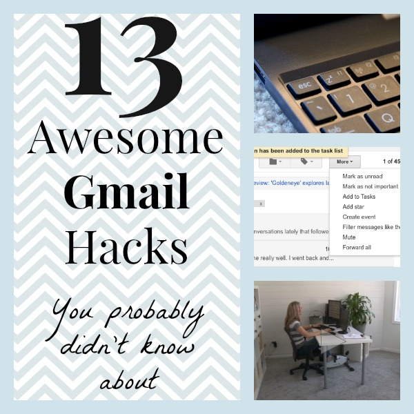 13 Awesome Gmail Hacks You Probably Didn't Know