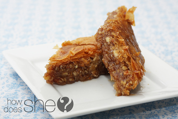 Bake Baklava. Be Famous.