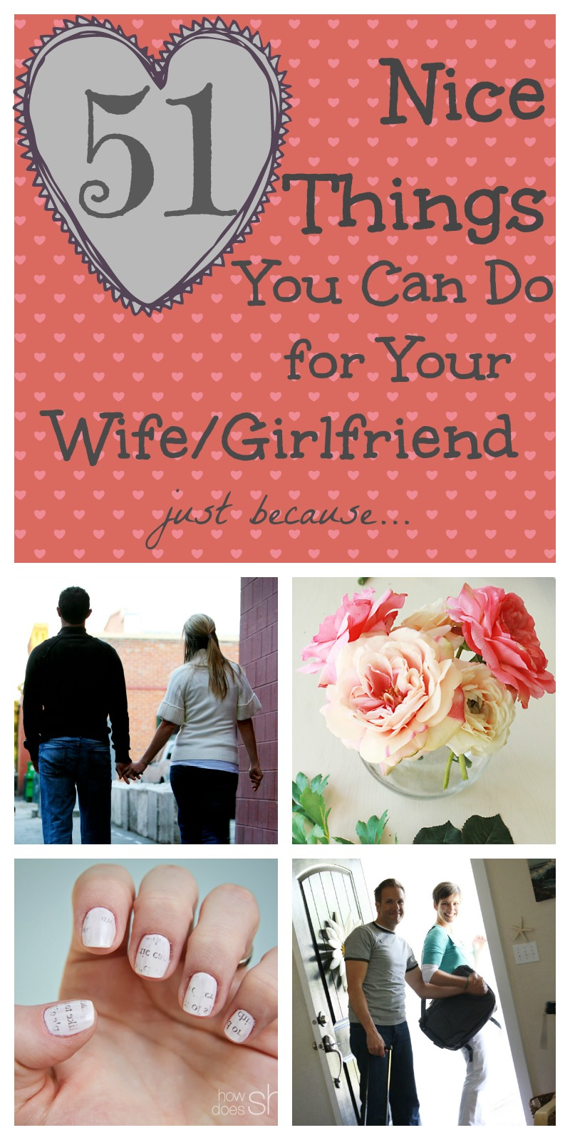 Nice Things To Do For Your Wife