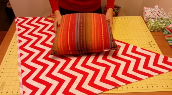 No sew Pillow update
