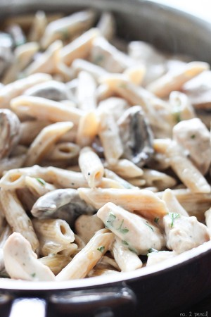 One-Pot-Portobello-Chicken-Alfredo-5