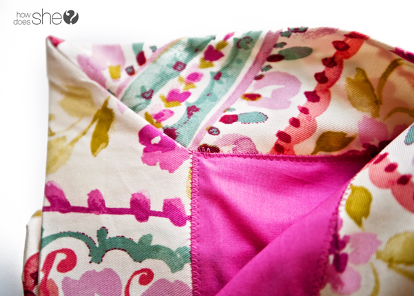Perfect corners every time - baby blanket how to (18)