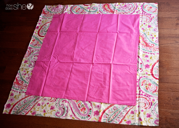 Perfect corners every time - baby blanket how to (2)