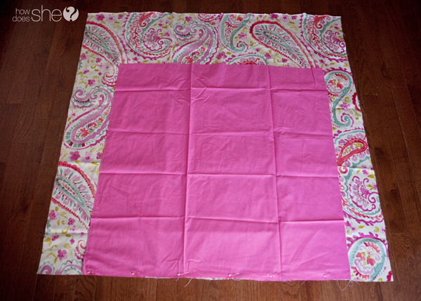 Perfect corners every time - baby blanket how to (4)