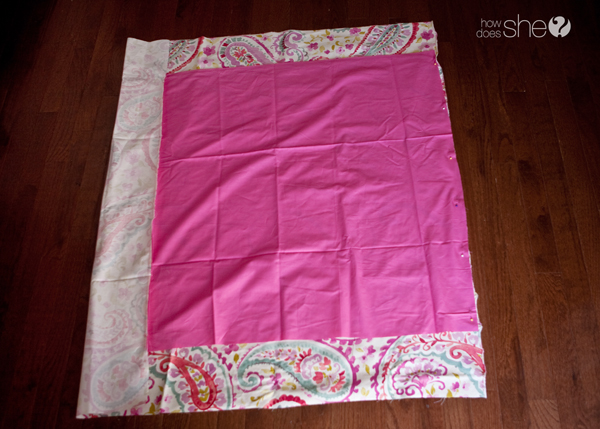 Perfect corners every time - baby blanket how to (6)