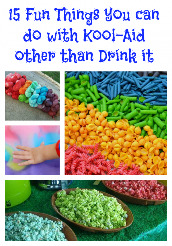 15 fun things you can do with Kool-Aid