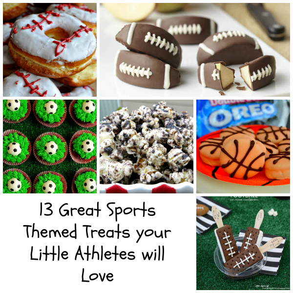 13 Great Sports Themed treats