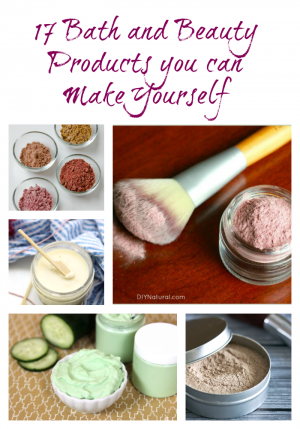 Bath and Beauty products you can make yourself