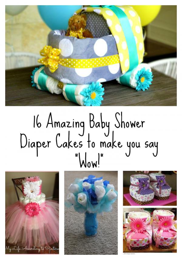 16 Amazing Diaper Cakes