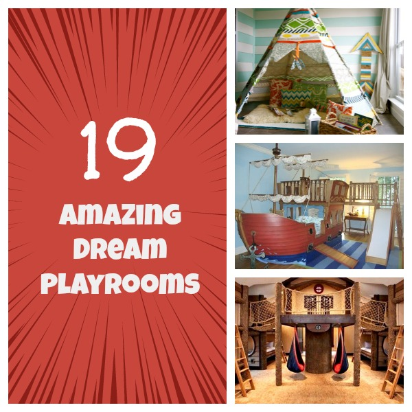 Playrooms Collage
