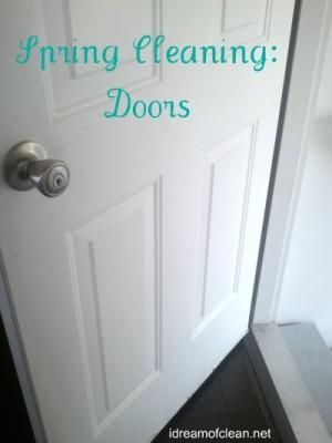 Spring-clean-doors