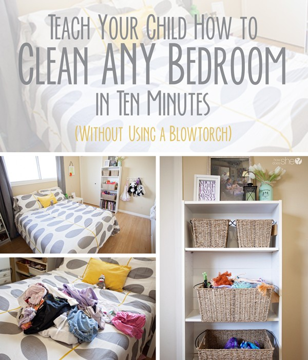 An organized house what it looks like and how to get there for Clean bedroom pictures