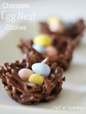 choc egg nest