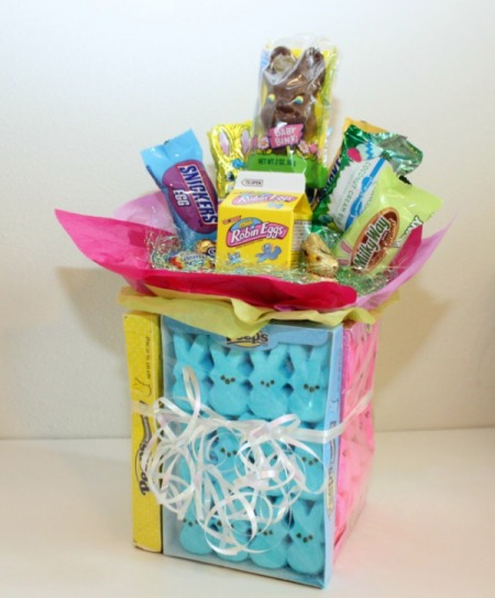 20 things to make with peeps how does she want to make an easter candy bouquet im actually liking this idea for my husband for easter negle Images