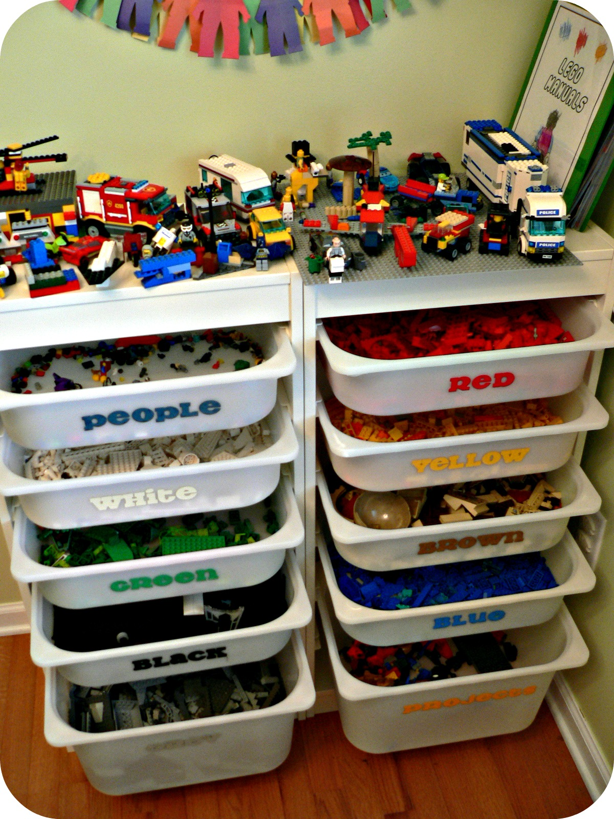 All Things Legos How Does She