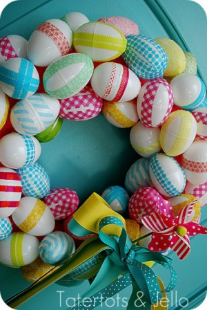 washi-tape-easter-wreath-side