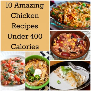 10 Amazing Chicken Recipes Under 400 Calories fb