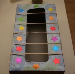 tissue box guitar
