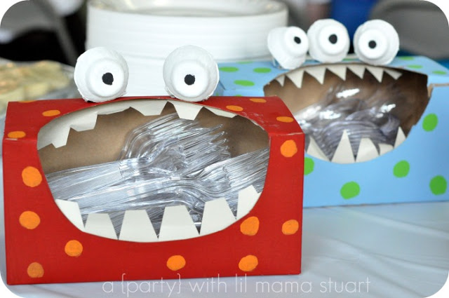 tissue box monster