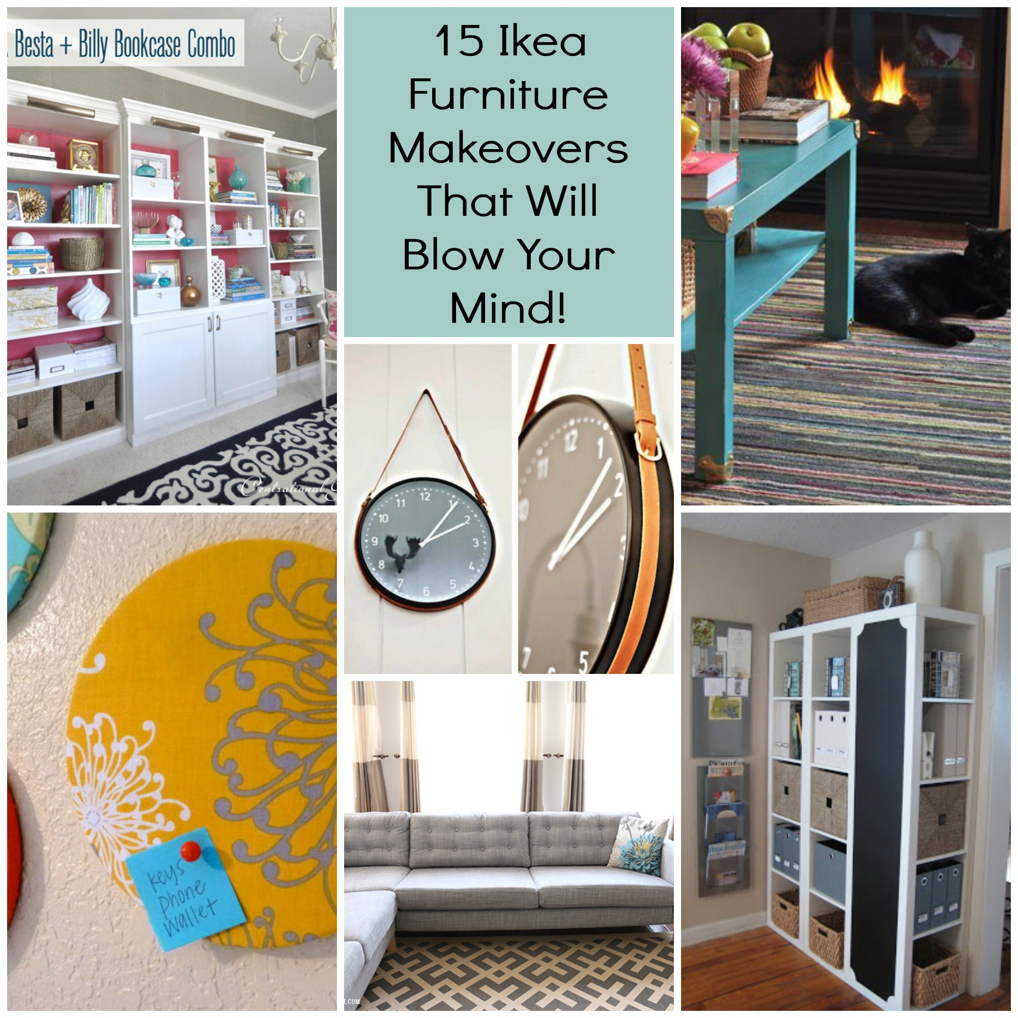 15 ikea furniture makeovers that will blow your mind Ikea furniture makeover