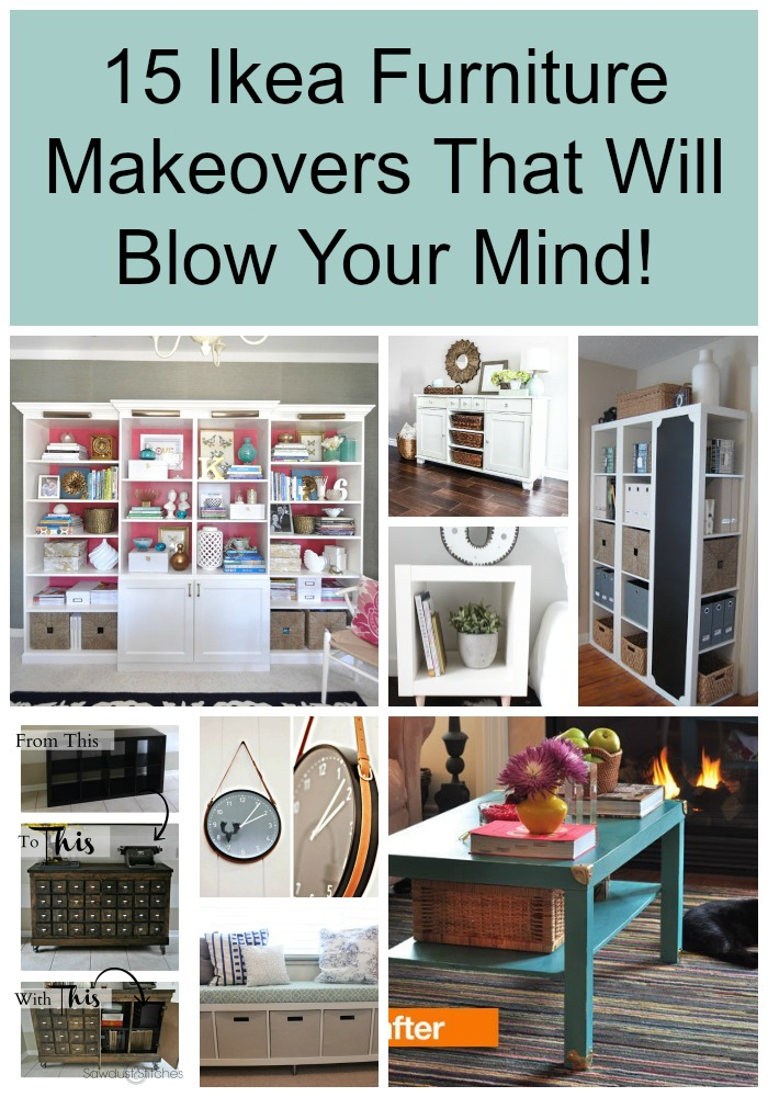 furniture makeovers. 15 Ikea Furniture Makeovers That Will Blow Your Mind! Pin E